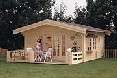 Click on image to see our range of Log Cabins & Offices